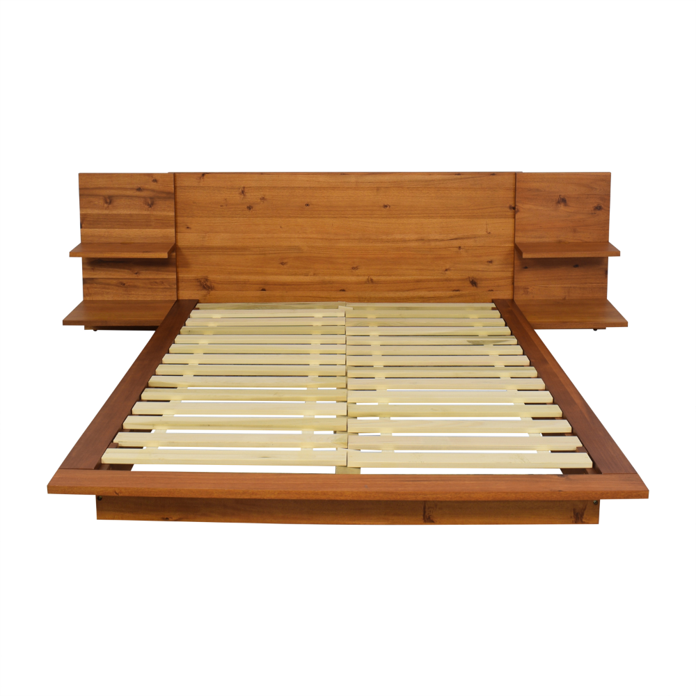 32 Off Cb2 Cb2 Andes Acacia Queen Bed Frame Beds Queen Bed Frame Bed Frame Cb2 Living Room