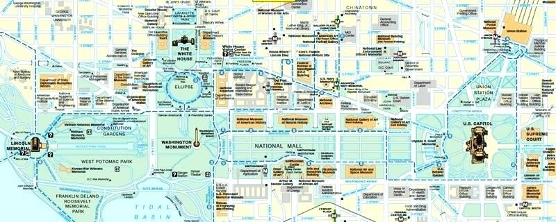 graphic regarding Printable Map of Washington Dc Mall named map of the nationwide shopping mall washington dc Printable Map Of The