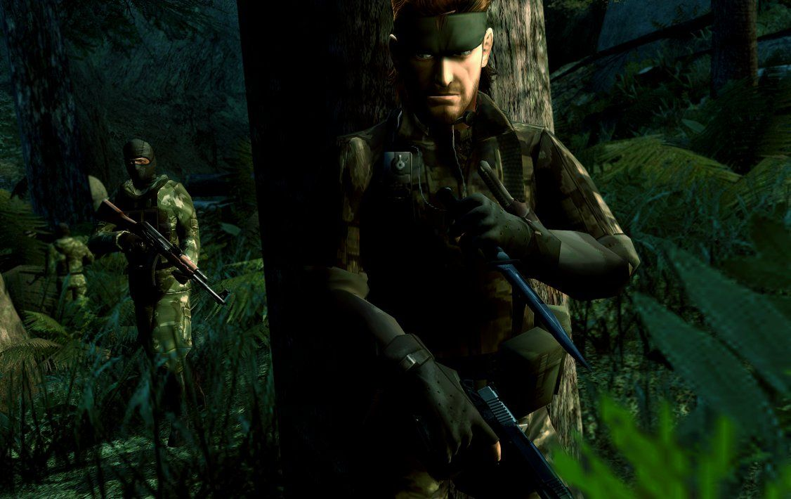 Naked Snake (Big Boss) - Metal Gear Solid 3: Snake Eater #MetalGearSolid3 #NakedSnake #SnakeEater #MGS3SnakeEater #MGS3 #BigBoss