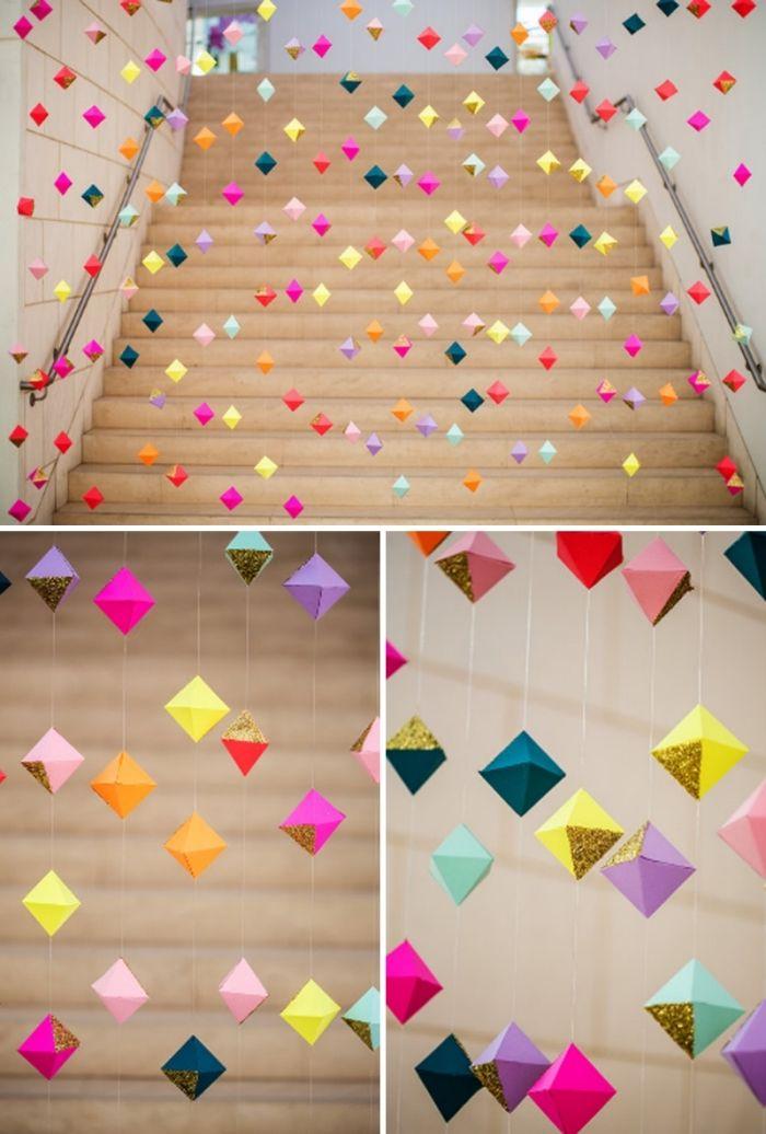 1001 astuces pour apprendre comment faire une guirlande en papier activities pinterest. Black Bedroom Furniture Sets. Home Design Ideas