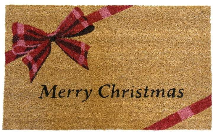 The Holiday Aisle A Gift Merry Christmas Door Mat Christmas