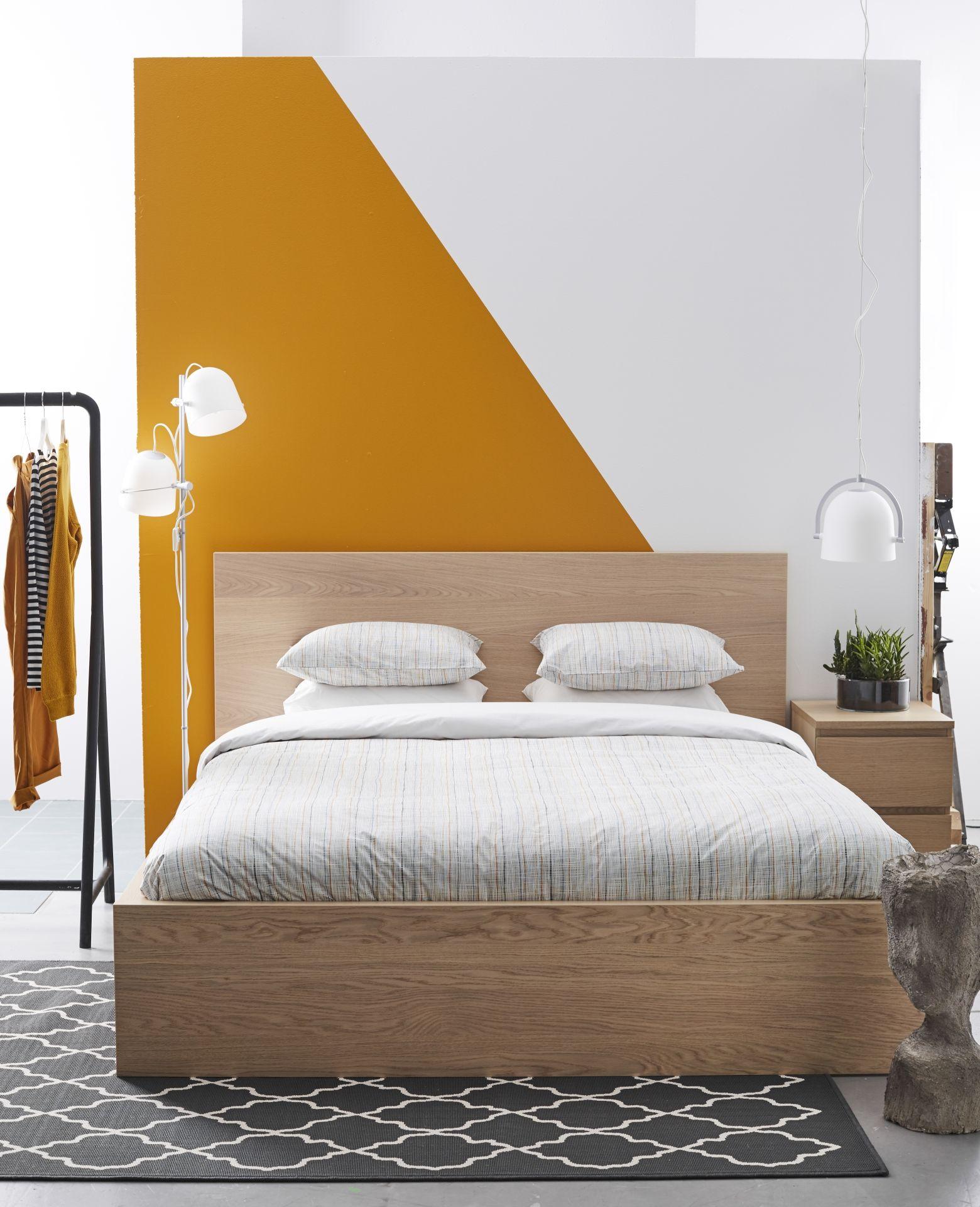 Malm bedframe ikea ikeanl ikeanederland bed inspiratie for Slaapkamer bed