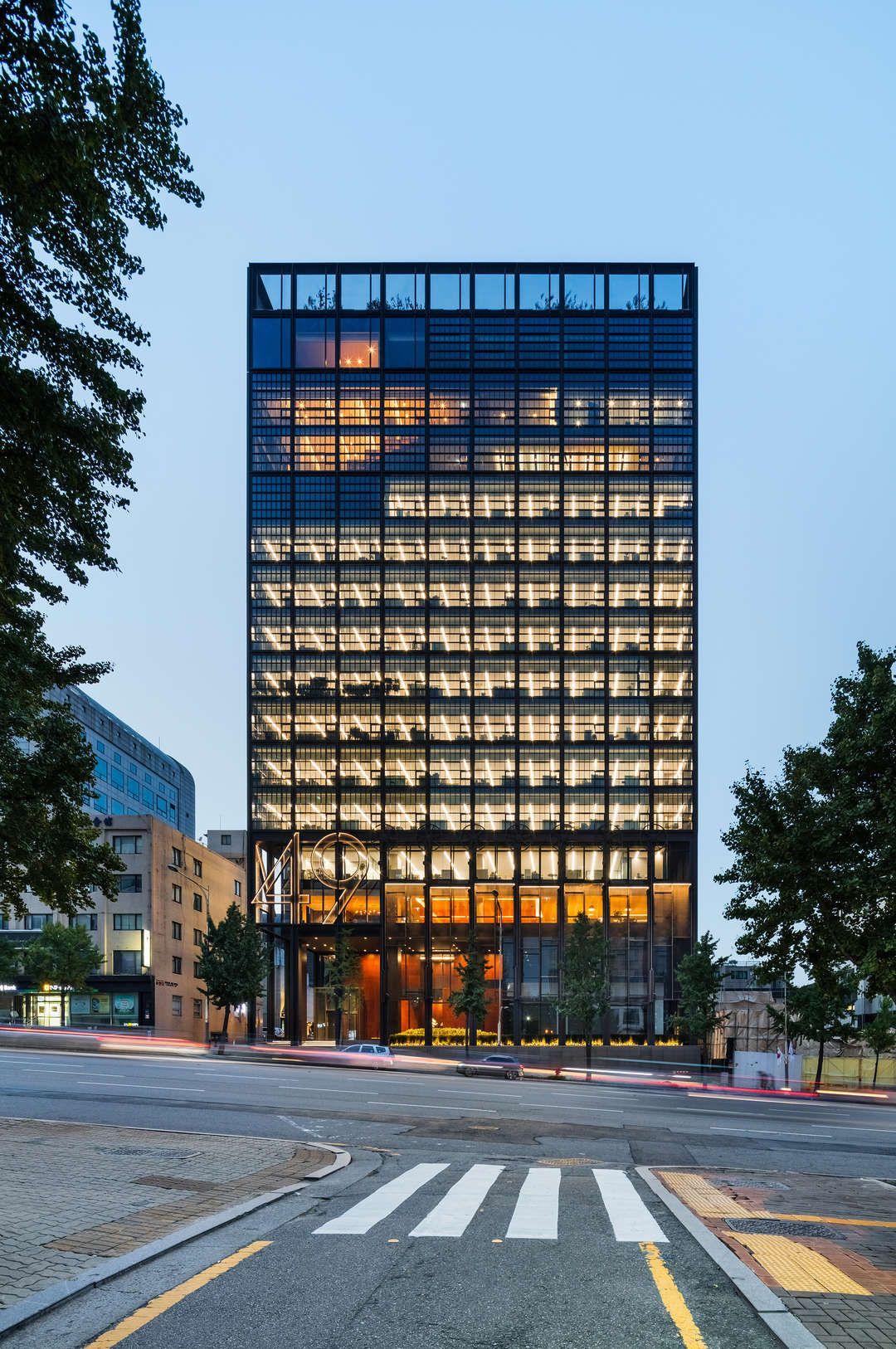 Shinsegae International Facade Architecture Office Building Architecture Architecture