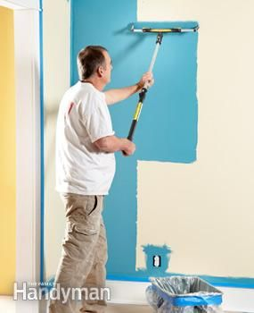 Painting Tips How To Paint Faster Painting Tips Family Handyman Handyman