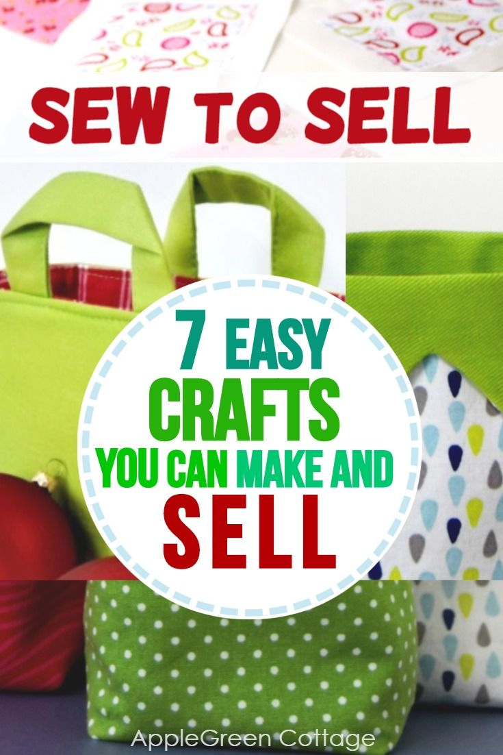 7 Easy Crafts To Make And Sell #craftstosell