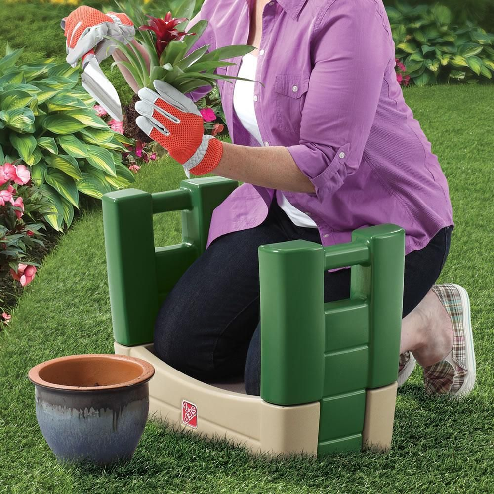 Step2 534900 Easy Up Garden Kneeler Seat 300 Lbs Weight Limit
