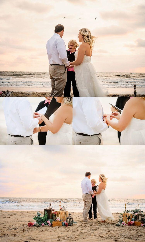 Virginia Beach Wedding Photographer Sunrise Elopement