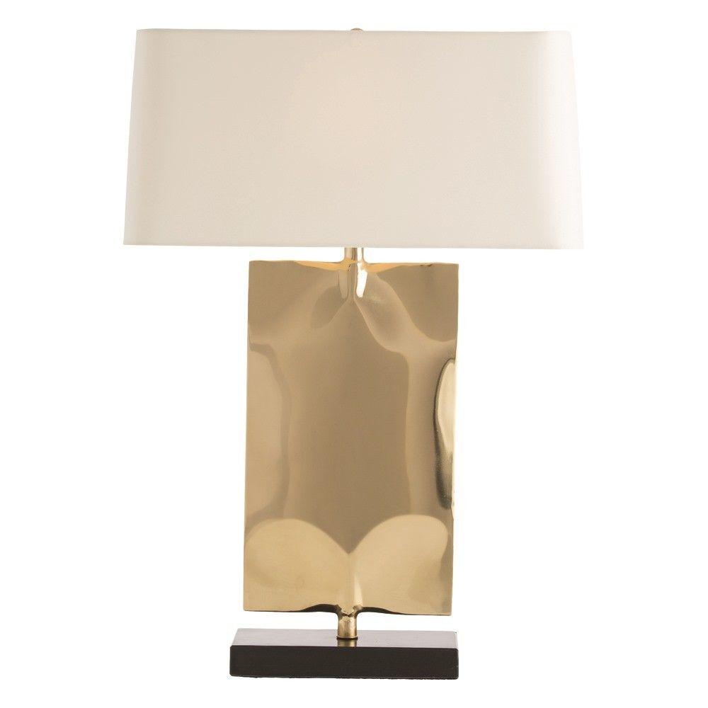 Emil Polish Brass Table Lamp Lamp Table Lamp Brass Lamp
