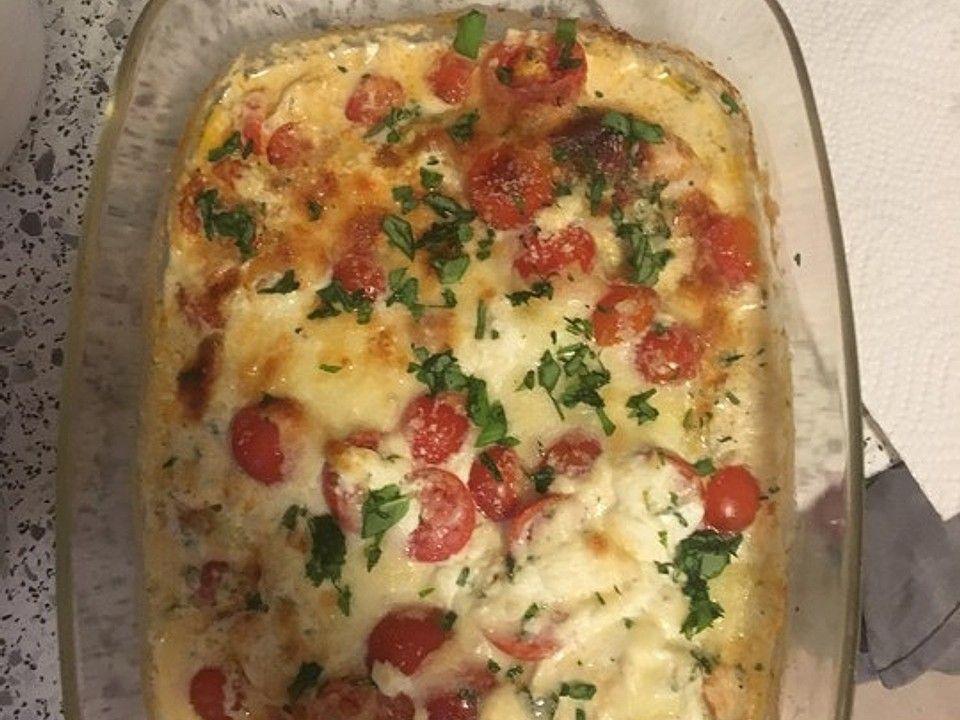 Mozzarella-Hähnchen in Basilikum-Sahnesauce von bienemaya | Chefkoch