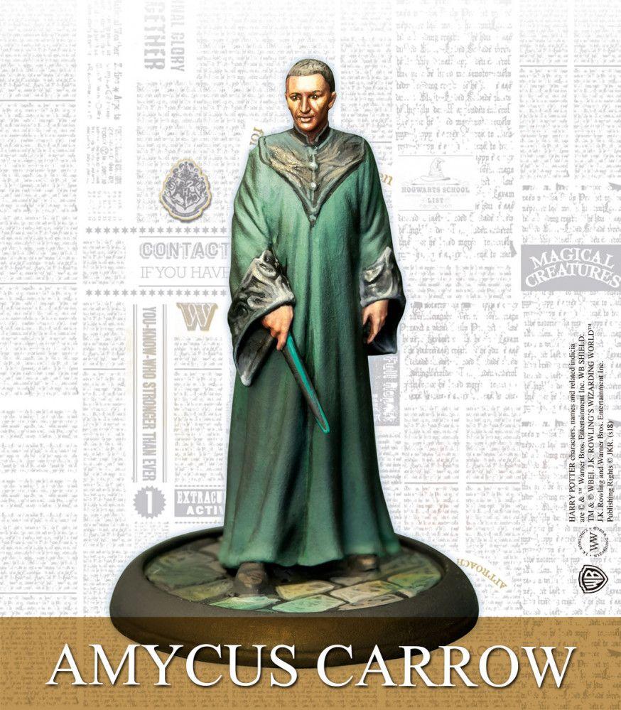 Amycus Carrow Hogwarts Teachers English Knight Models Knight Models Hogwarts Teachers Harry Potter Miniatures