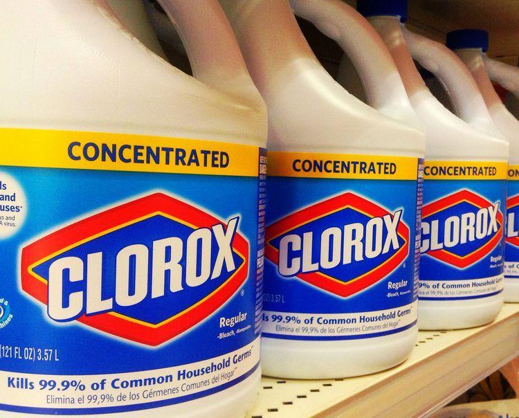 The Top Deck Cleaners Clorox Bleach