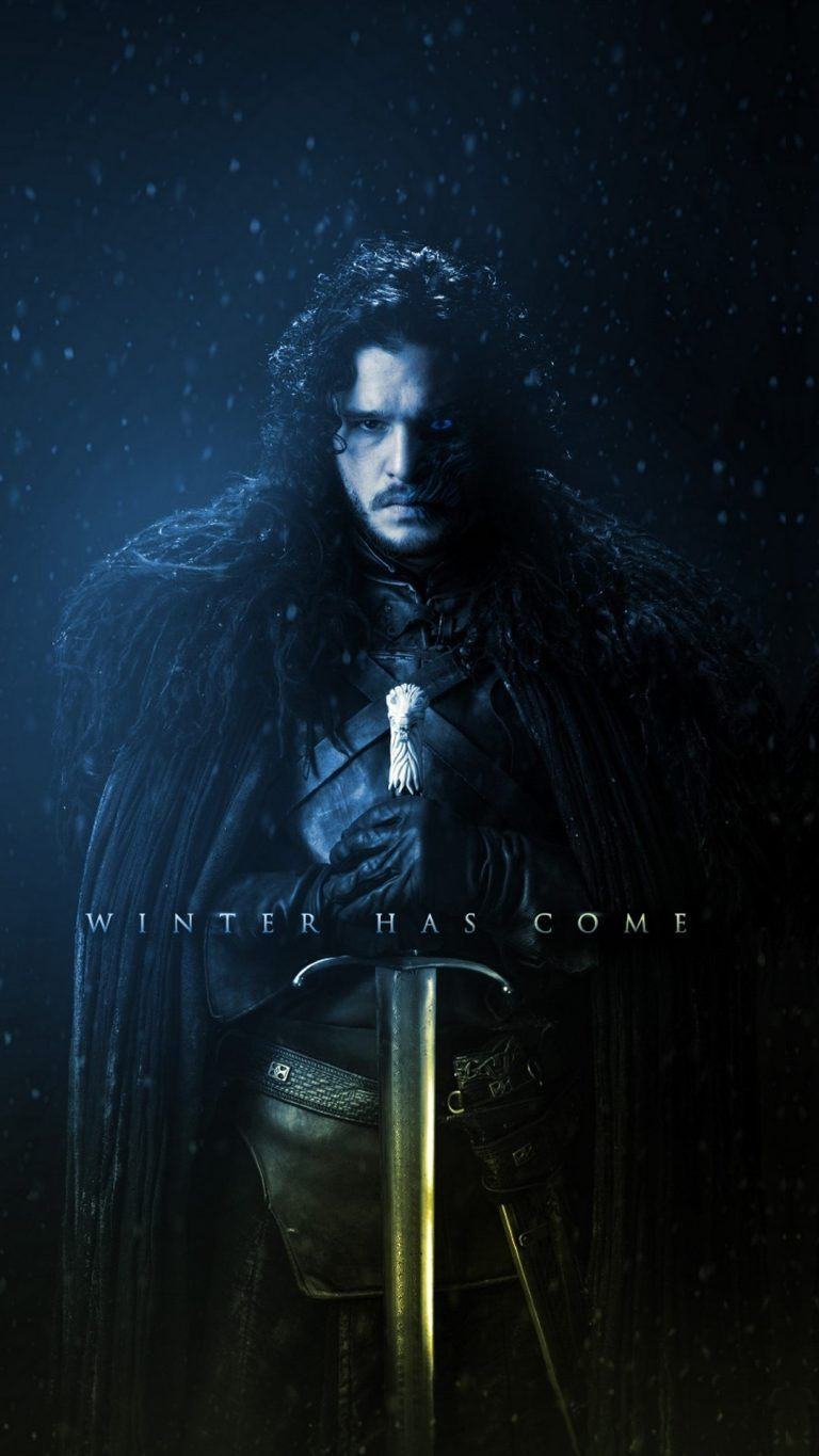 Game Of Thrones Wallpaper Iphone Jon Snow Winter Is