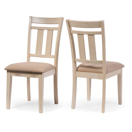 Baxton Studio Roseberry Dining Chair - Set of 2 | Wooden ...