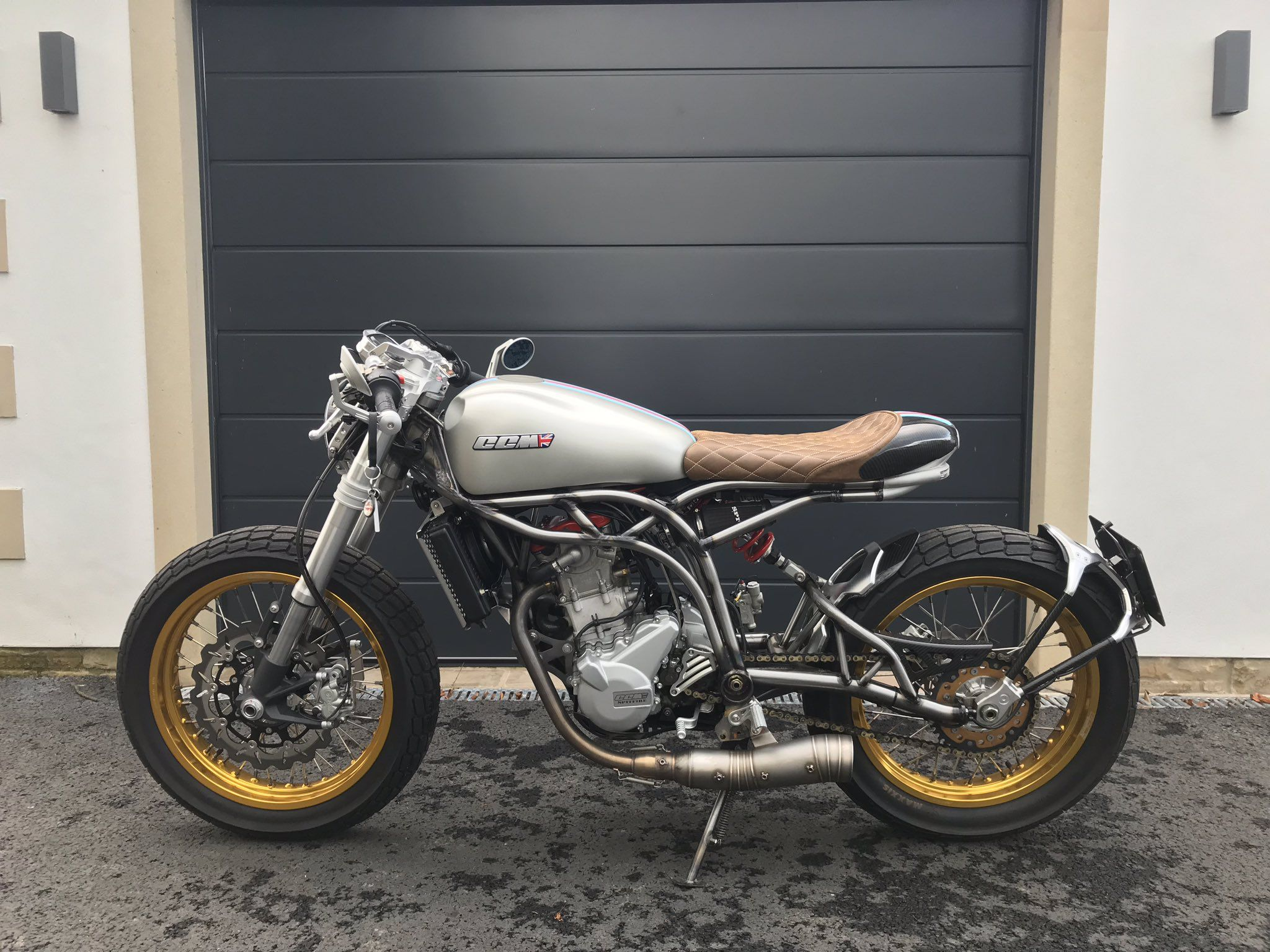 CCM Spitfire Café Racer | Motorcycling | Motorcycle, Bike