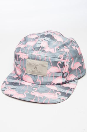 Flamingo Five Panel Hat - Black by Lira use rep code  OLIVE for 20% off! a6843b48c4a
