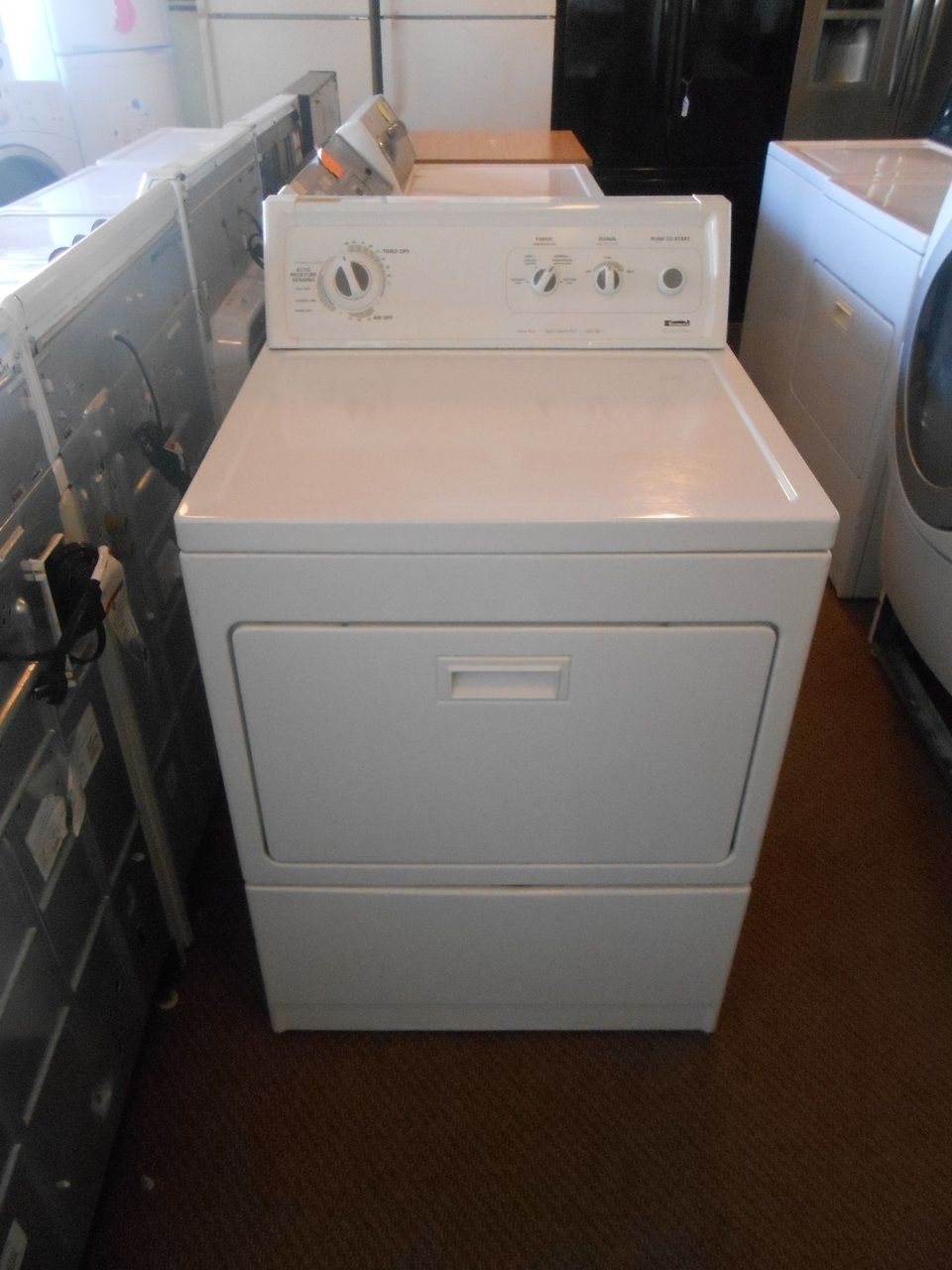 Liance City Kenmore Limited Electric Dryer Heavy Duty Extra Capacity Plus 4 Temperature Wrinkle Guard