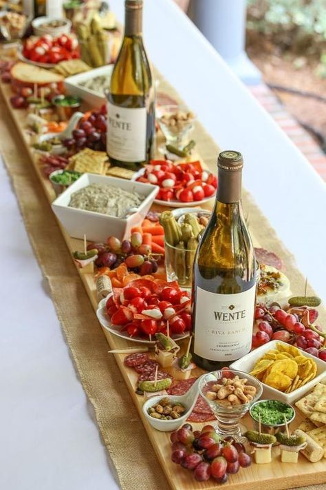 Photo of How to Make Antipasto Board Table Runner (Antipasti Platter)