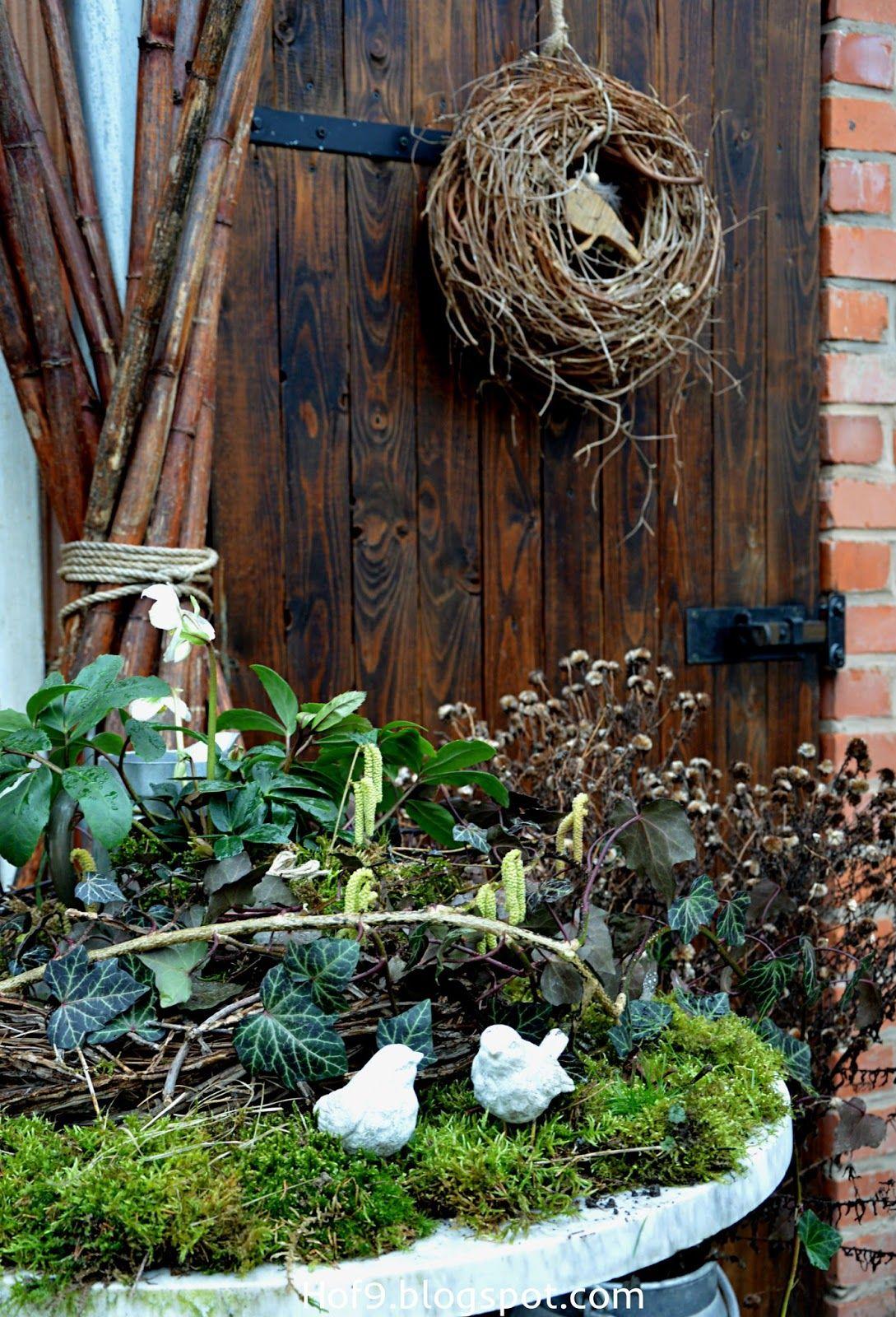 Holzvogel Selber Bauen Vogel Aus Holz Christrosen