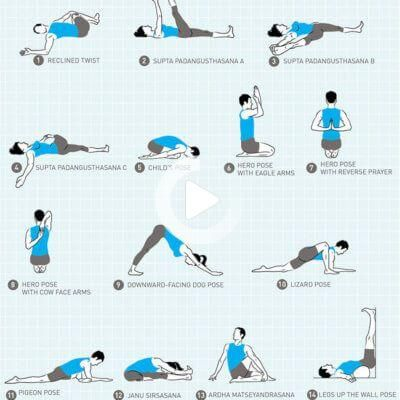 evening yoga sequence in 2020  evening yoga routine