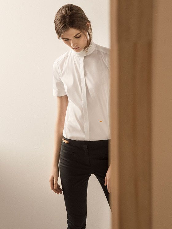 BLOUSE MET KORTE MOUW LIMITED EDITION