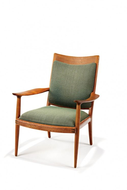 Sam Maloof Armchair Lounge Executed 1967 Modern Style Furniture