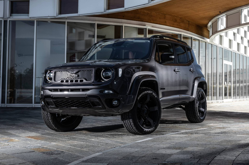Militem Hero Is A Jeep Renegade That S Gone Both Badder And