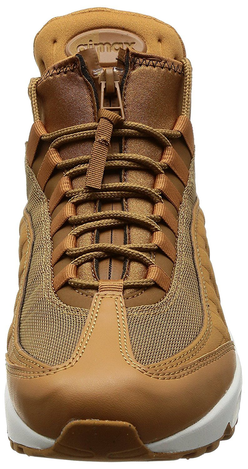reputable site 7a924 09f78 Nike Air Max 95 Leather Textile Brown Sneaker Boot  Amazon.de  Schuhe
