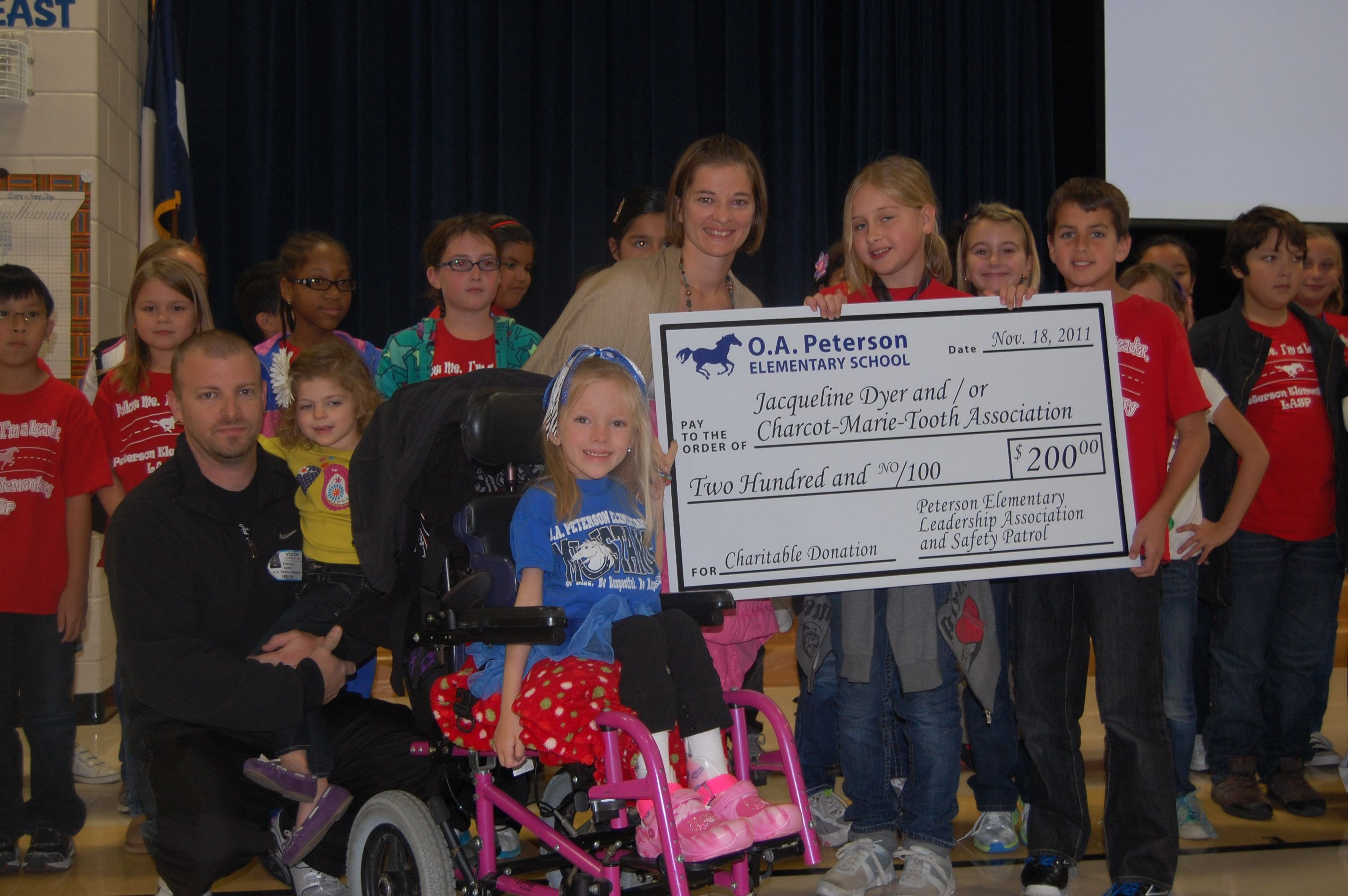 O.A. Peterson Elementary Leadership Association and