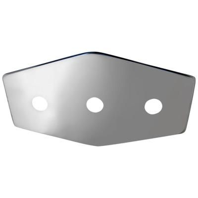 Lincoln Products 3 Handle Stainless Steel Repair Plate With Mounting Hardware 102215 In 2020 Hardware Stainless Steel Polished Chrome