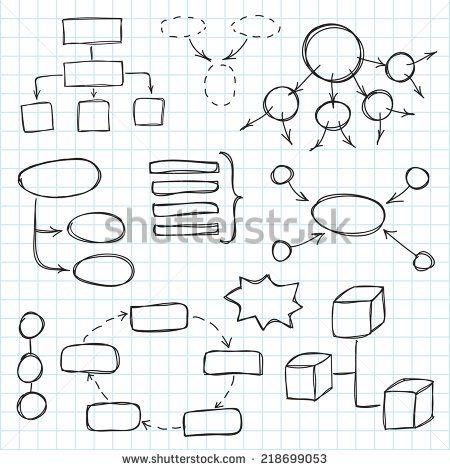 Organization Chart Hand Drawn Stock Photos, Images