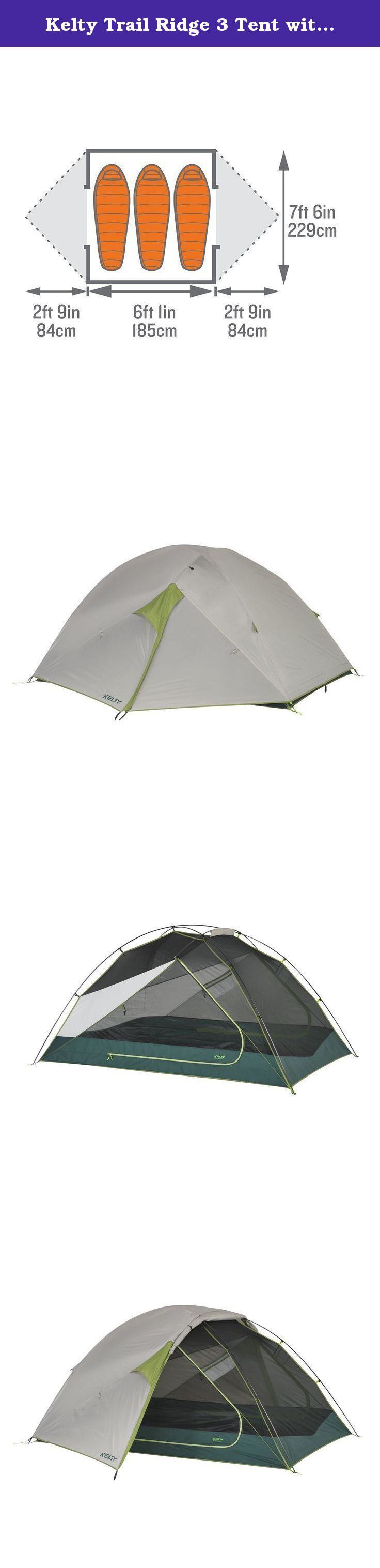 Kelty Trail Ridge 3 Tent with footprint - 3 Person. This hybrid cooler is designed  sc 1 st  Pinterest & Kelty Trail Ridge 3 Tent with footprint - 3 Person. This hybrid ...