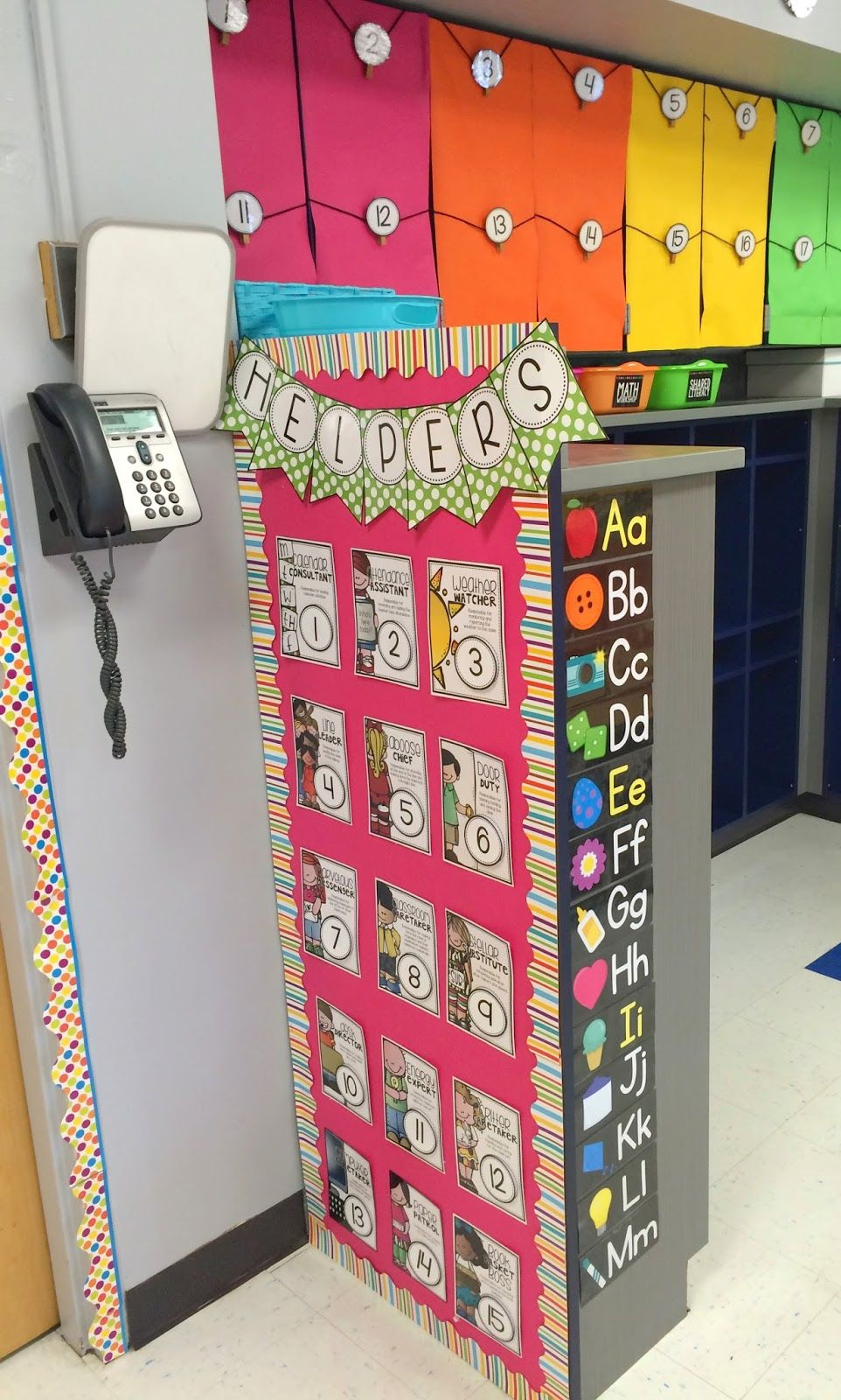 Classroom Job Ideas For 4th Grade : First grade made classroom reveal th