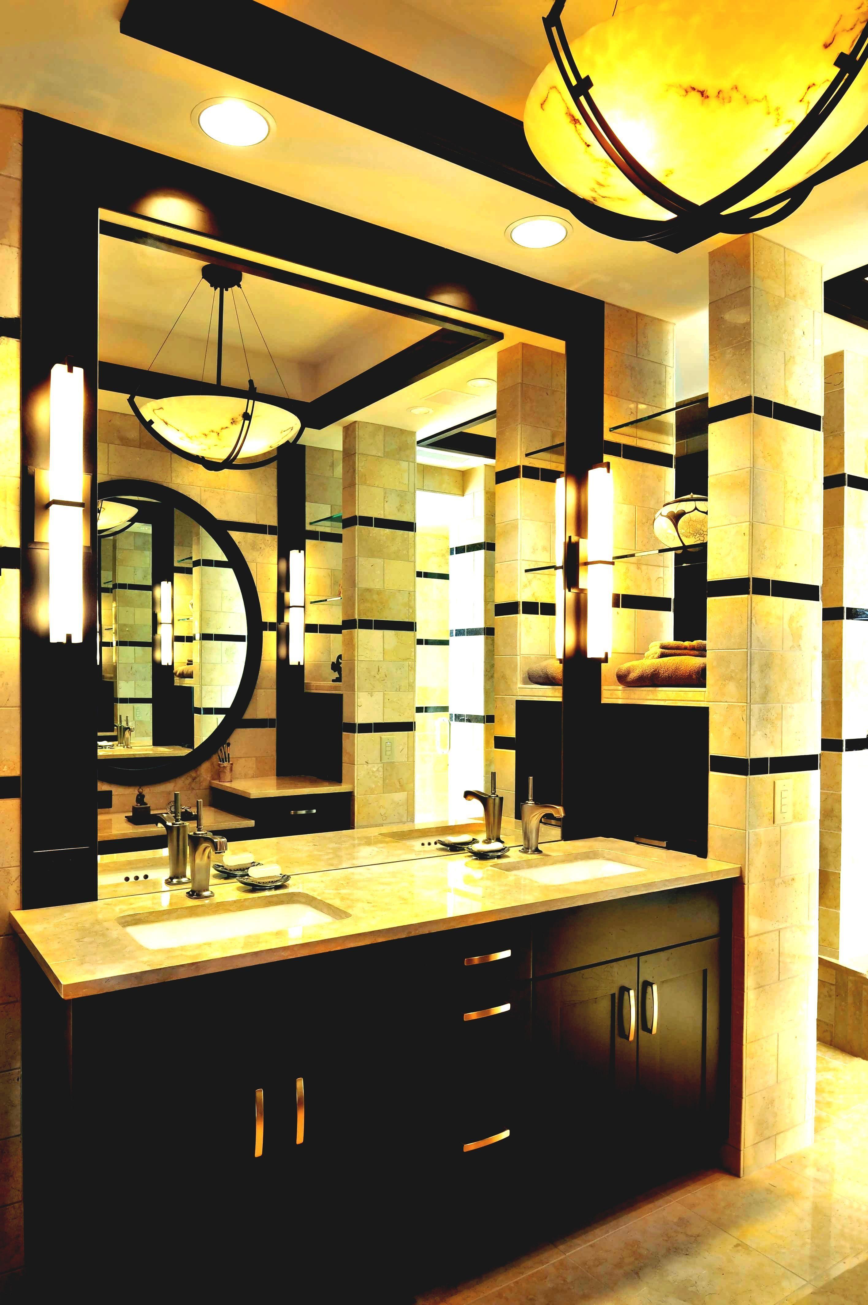 Master Bath Vanity 2 Mirrors 1 Light Fixture Dining Room Wainscoting Bathroom Wallpaper Bathroom Interior