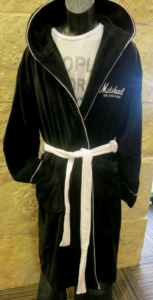 Marshall Amp hooded bathrobe
