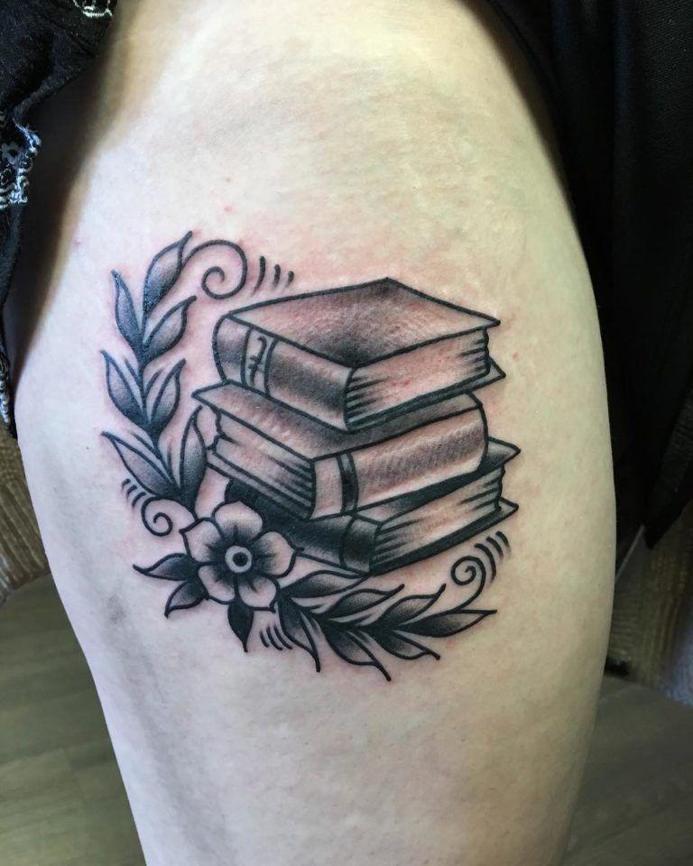 48 inspiring book tattoo ideas for girls book tattoo