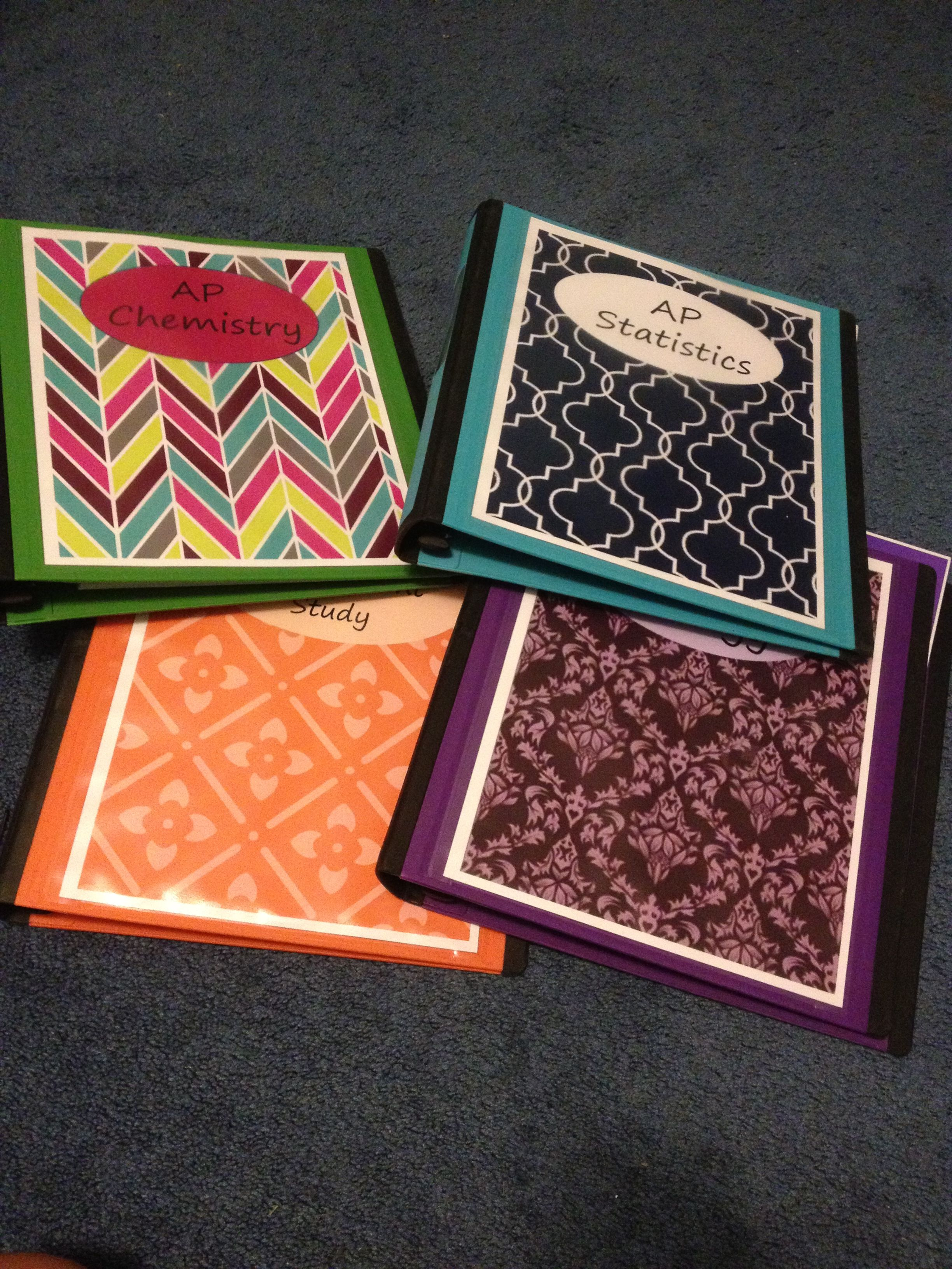DIY binder covers Binder covers diy, Diy school supplies