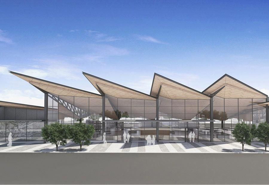 Inspirational Recommendations That We Really Enjoy Newroof Roof Architecture Bus Station Architecture