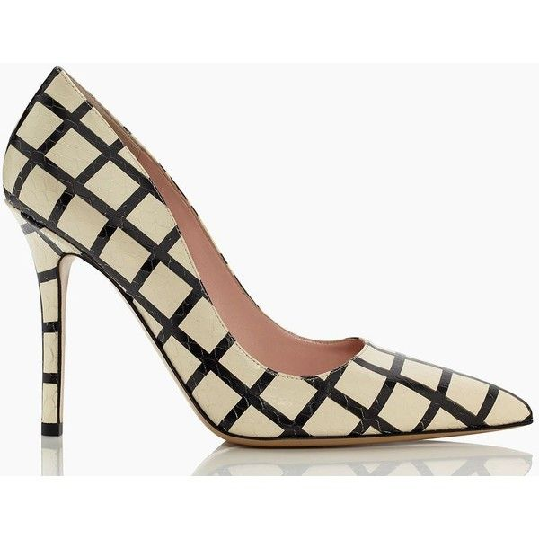 8acea9875e44 Kate Spade Larisa Heels ( 175) ❤ liked on Polyvore featuring shoes ...