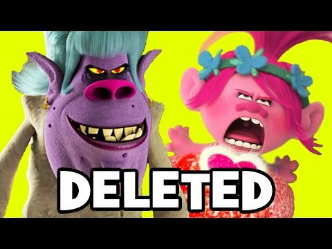 Trolls DELETED SCENES & SONG Explained - DreamWorks Animation - YouTube