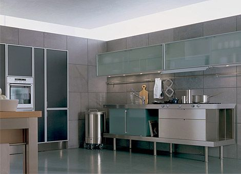 Kitchen Wall Cabinets With Gl Sliding Doors