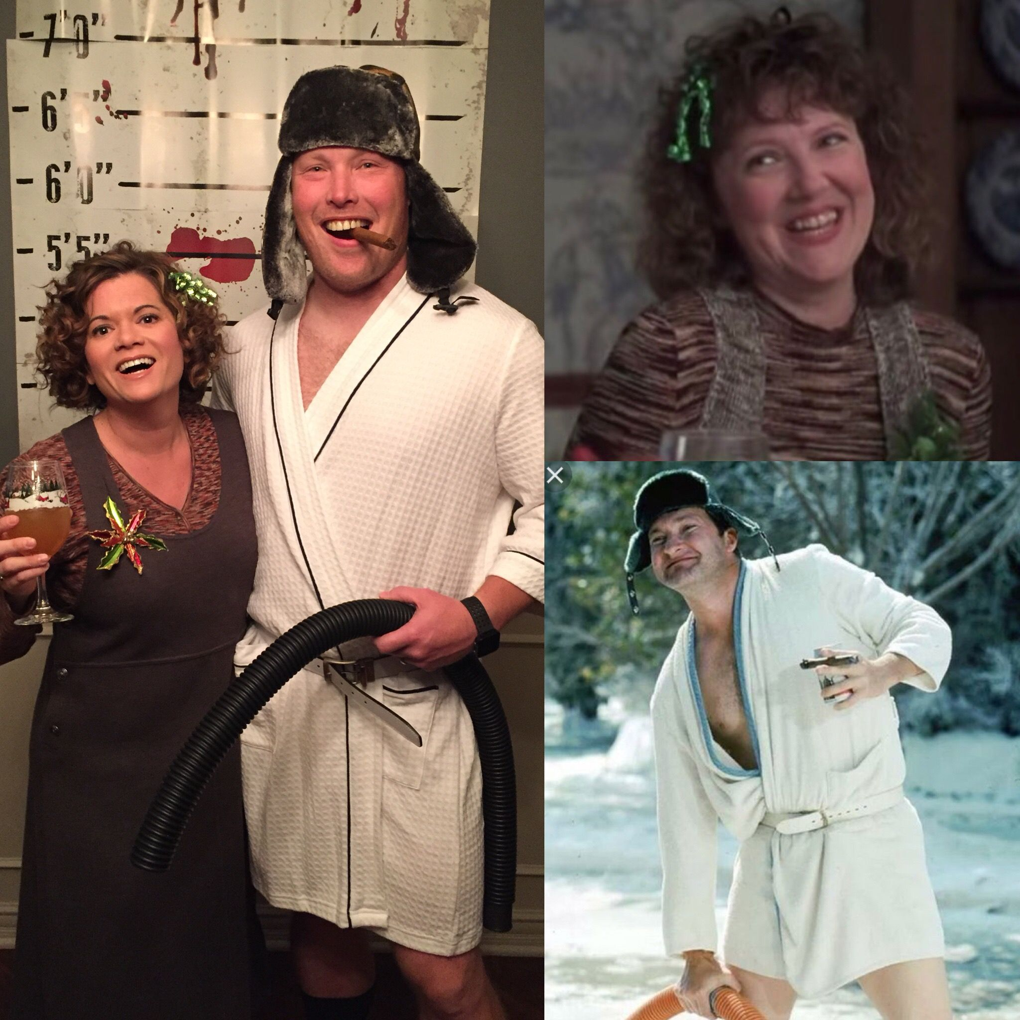 Cousin Eddie & Catherine Christmas vacation costumes