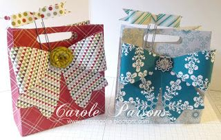 Magnolia's Place: Gift Bag Tutorial