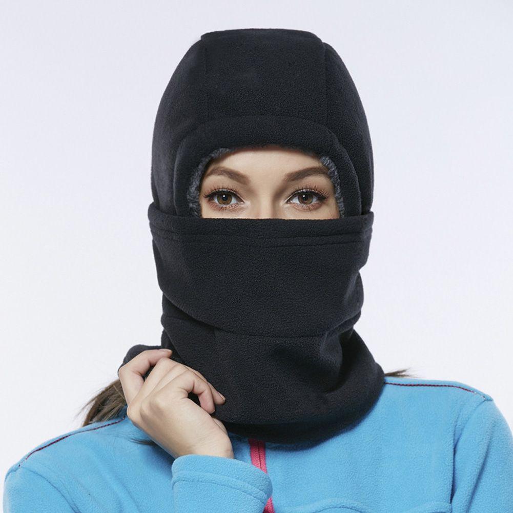 Outdoor Cycling Balaclava Winter Warm Motorcycle Helmet Liner Cap ...