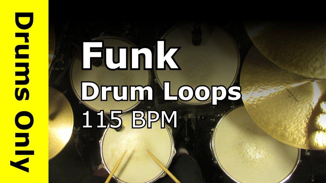 Funk Drum Loops 115 BPM Drums beats, Drums, Funk