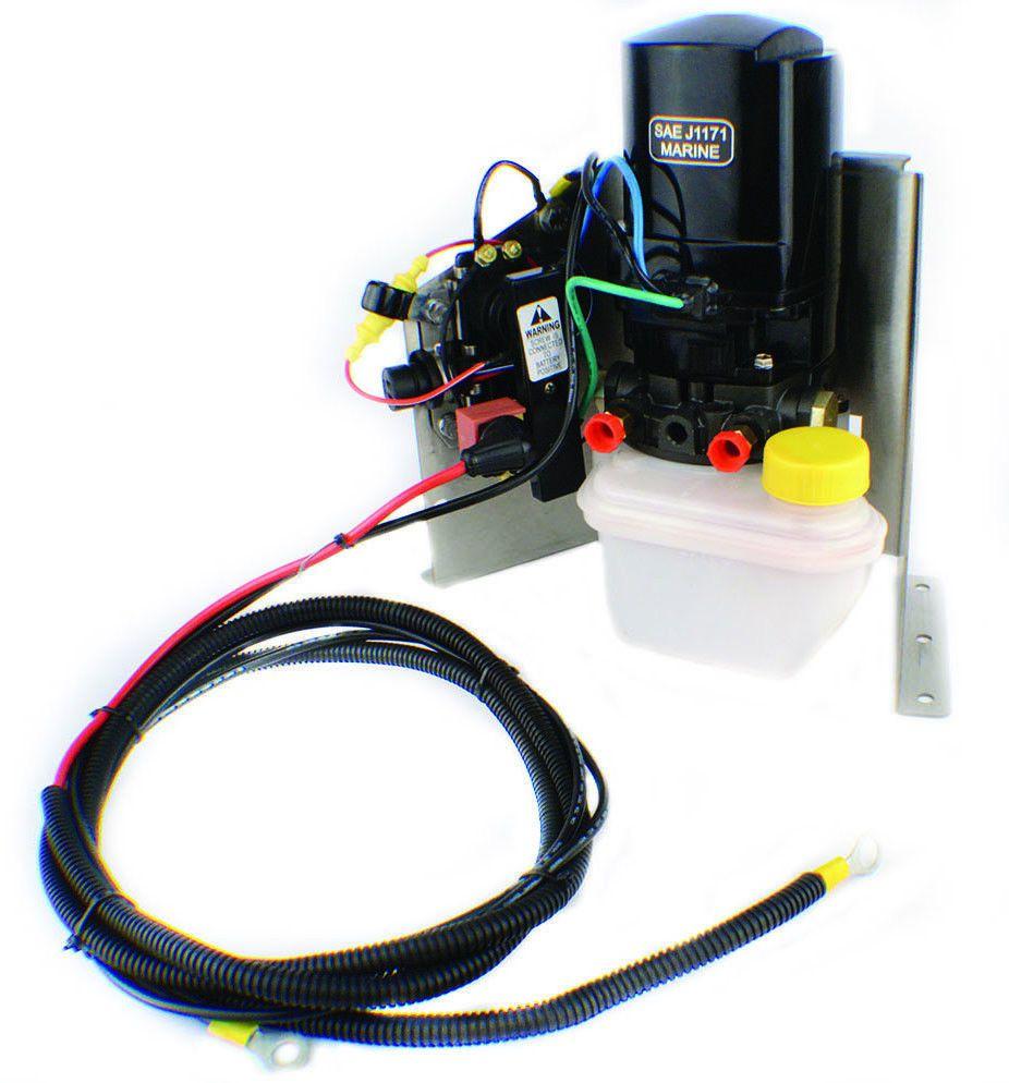 Outboard Mercruiser Tilt Trim Motor Complete W Solonoid Kit Ph200 Power Wiring Harness T016 Sk Mercury