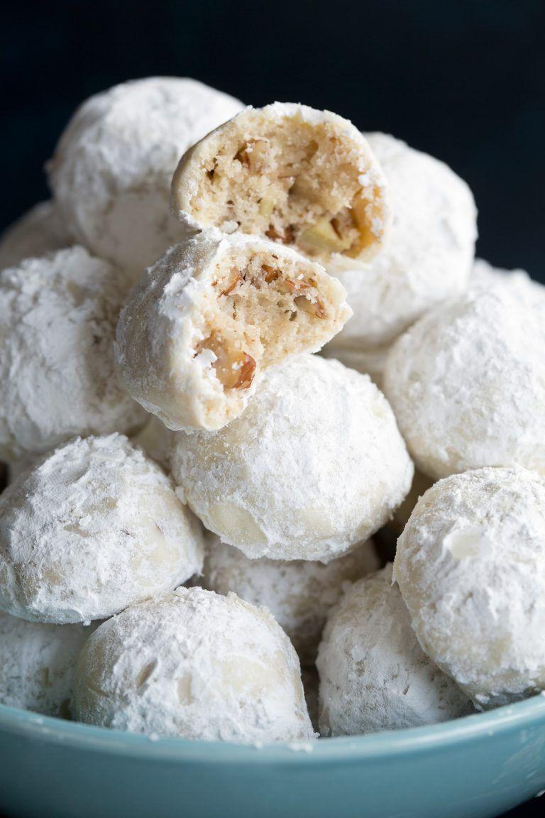 Mexican Wedding Cookies Recipe Box Baking Mexican Wedding