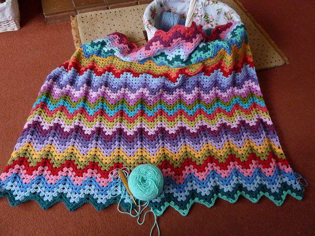 Granny Ripple Progress Free Pattern Patterns And Crochet