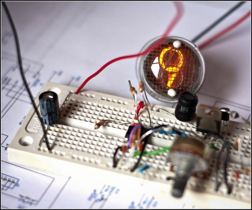 High Voltage Power Supply For Nixie And Valve Tubes In 2020 High Voltage Power Supply Nixie Tube