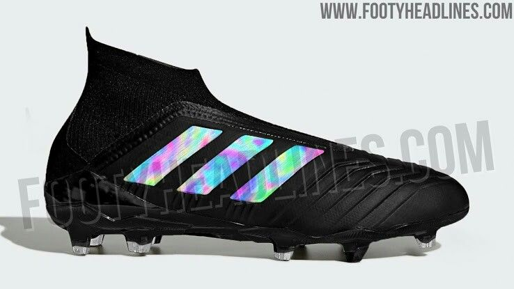 Exclusive  insane  Shadow Mode  adidas Predator 2018-2019 boots leaked  Football Soccer f98789a5b7a81