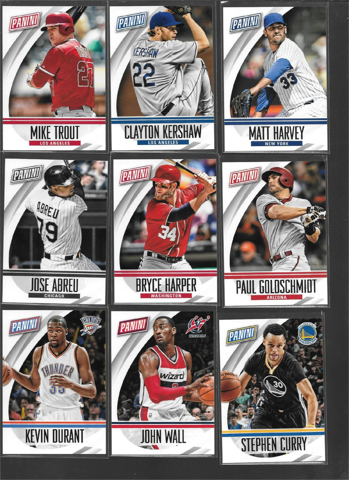 2015 panini national convention base card set 71 cards